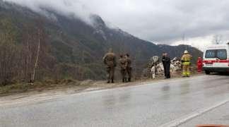 Automobil sletio u kanjon Miljacke na Bulozima, dvije osobe poginule