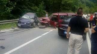 Dvije osobe teško povrijeđene u saobraćajnoj nezgodi