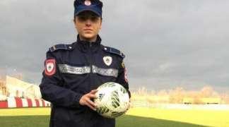 Zvorničanka Valentina Šakotić, policajka i reprezentativka BiH u fudbalu