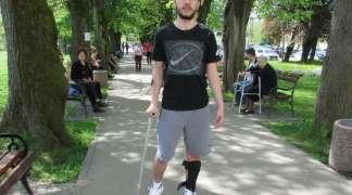 Vanja Pejaković prohodao nakon loma vratnog pršljena