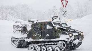Austrija pred snježnim kolapsom: Vojska evakuisala đake